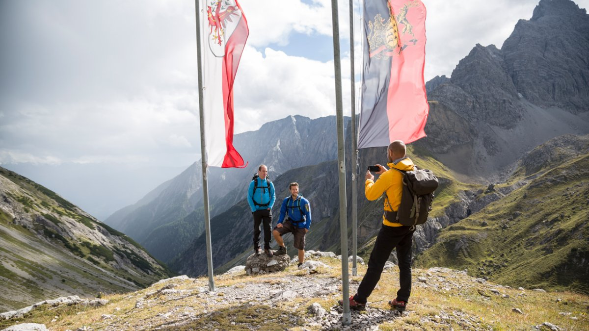 Adlerweg: Ausblicke in den Lechtaler Alpen, © Tirol Werbung