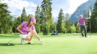 Golfen auf dem Golfplatz Pertisau, © Golfclub achensee