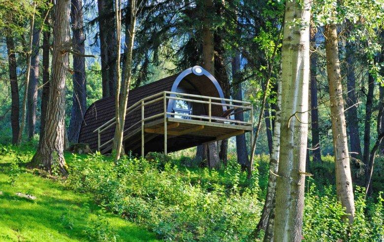 Im Baumhaus schlafen und sich wieder einmal wie ein Kind fühlen. , © Familienparadies Natterer See
