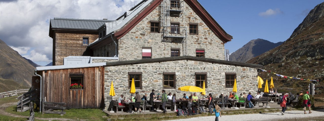 Franz-Senn-Hütte, © Tirol Werbung/Markus Jenewein