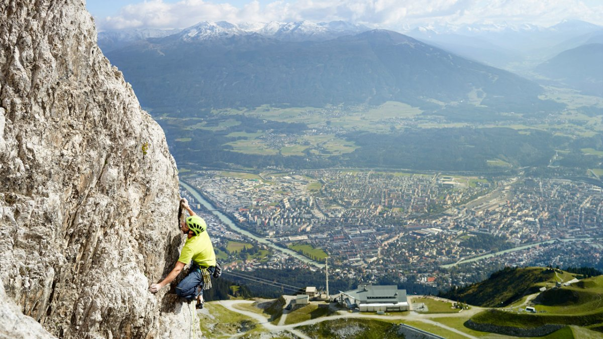 Klettern in der Region Innsbruck, © TVB Region Innsbruck