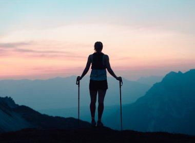 Beim Trailrunning hinterlässt man keinen umweltschädlichen Fußabdruck.