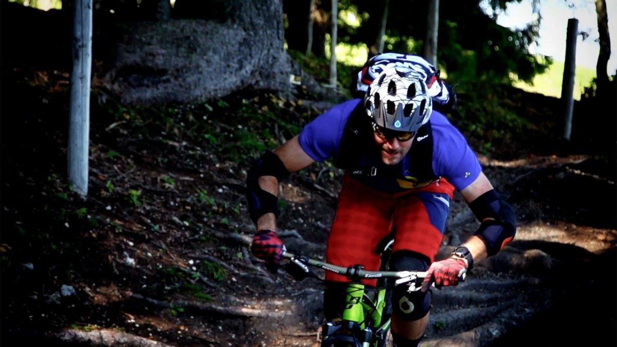 MTB Fahrtechnik Training (2): Mountainbike Grundlagentraining Position