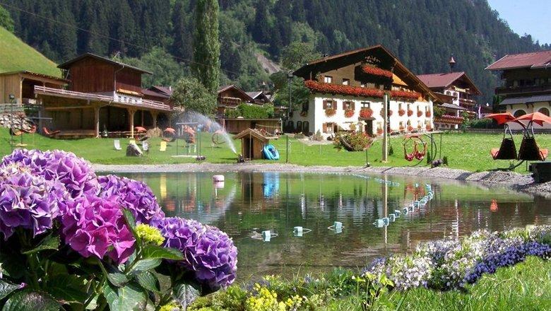 Badesee Stubaier Gesundheitssee, © Ferienregion Stubai