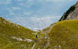 Goetheweg oberhalb von Innsbruck, © Tirol Werbung/Hans Herbig