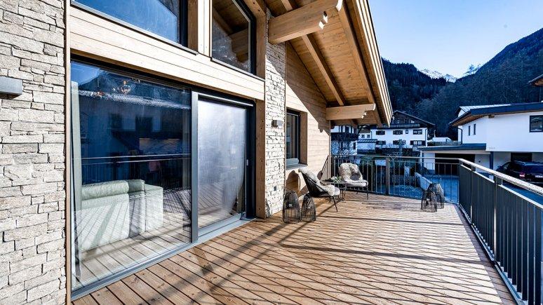 Balkon, © Alpenchalet Tirol