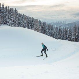 Langlaufen in Obertilliach, © Tirol Werbung / Ramon Haindl