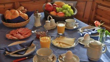 Herrliches Frühstück im Jagdhof