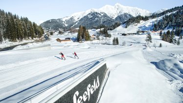 Weltcup-Loipe (C1) in Seefeld in Tirol, © Olympiaregion Seefeld / Stephan Elsler