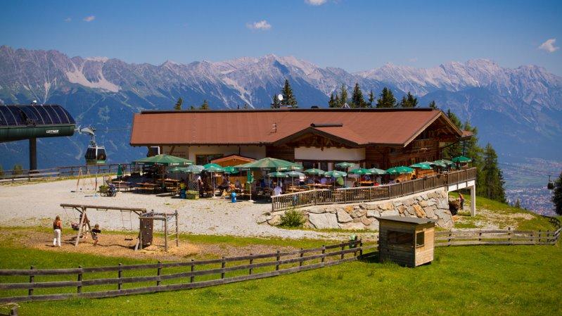 Bergstation der Gondelbahn Mutteralmbahn, © TVB Innsbruck