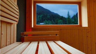 Der Waldhof Sauna Aussicht