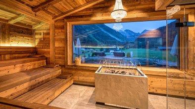 Panorama - Außenblock Sauna
