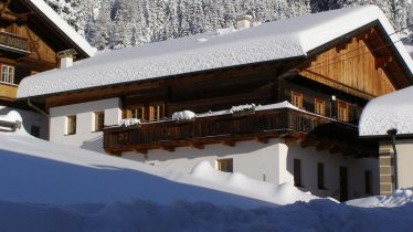 Veiderhaus im Winter