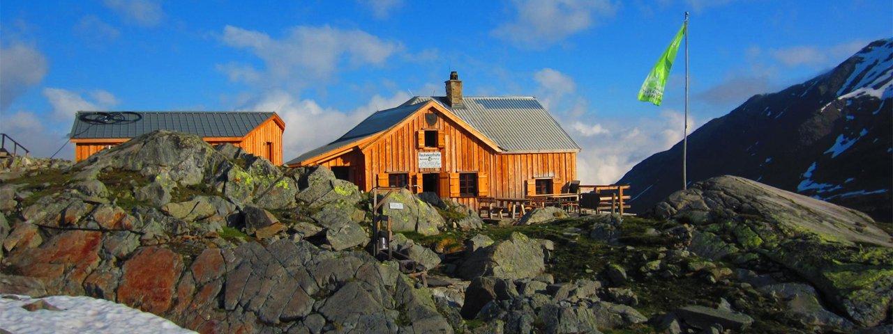 Rauhekopfhütte, © alpenvereinaktiv.com / Stefan Ernst, DAV Sektion Frankfurt/Main