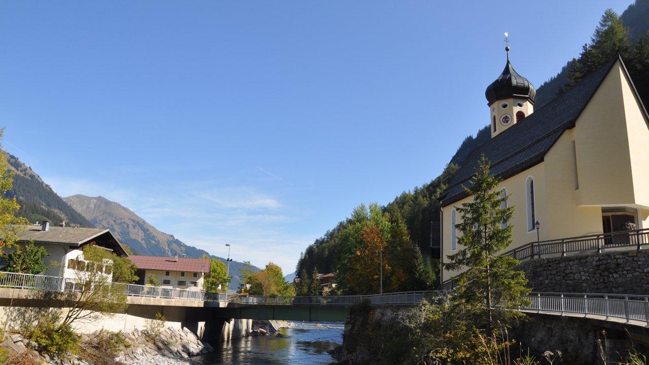 Steeg im Sommer, © Naturparkregion Lechtal