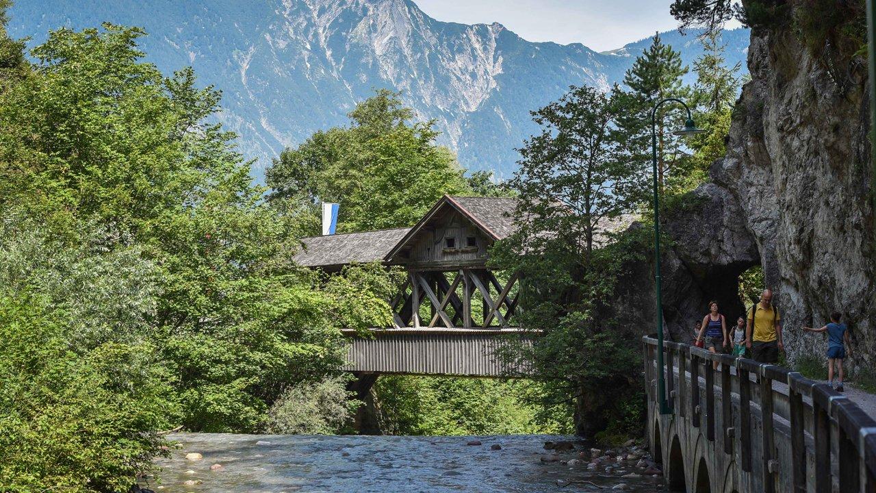 Kundl im Sommer - Kundler Klamm, © Alpbachtal Tourismus / G. Griessenböck