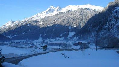 Blick von unserem Haus Richtung Brennerspitze