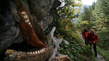 Auf den Spuren der Drachen, © TVB Naturparkregion Reutte