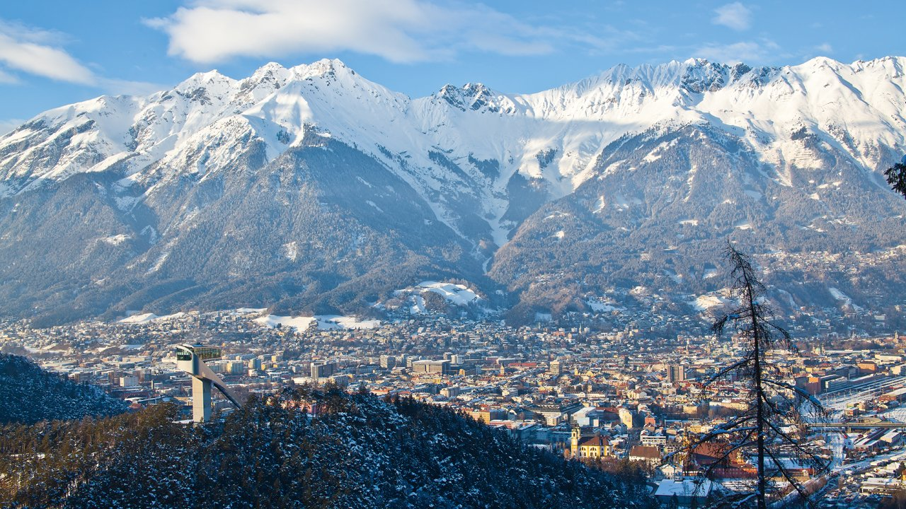 Blick auf Innsbruck im Winter, © Innsbruck Tourismus