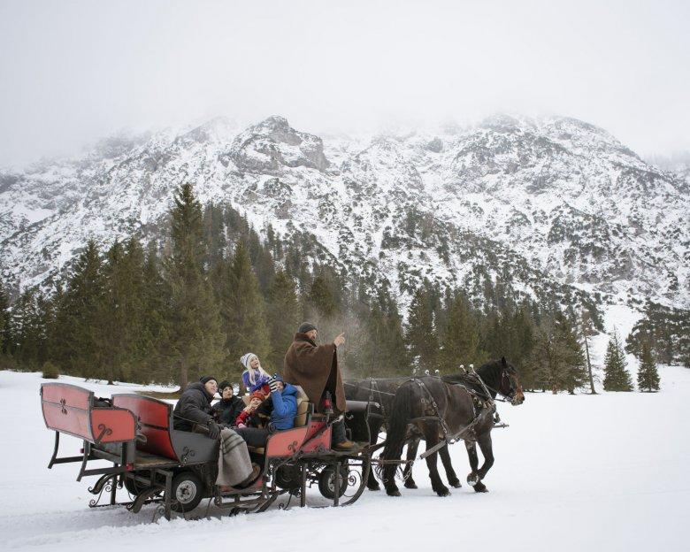 Pferdekutschenfahrt am Achensee.