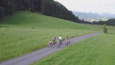 Der Radlweg nach Walchsee