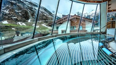 Gletscher-Whirlpool