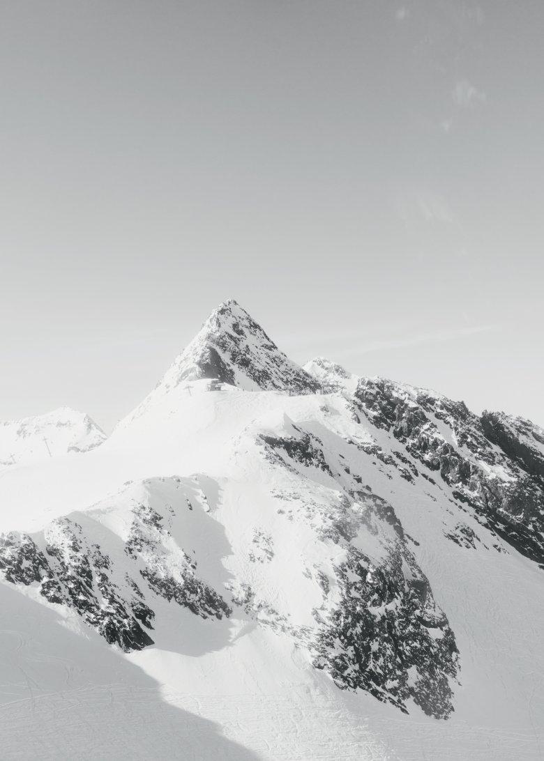 Die Stubaier Wildspitze.
