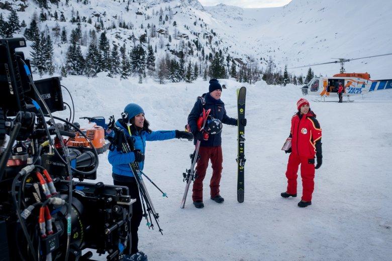 Aufnahme einer Szene in der Nähe der Kaunertal Gletscherstraße. , © 2020 Twentieth Century Fox Film Corporation, Photo by Jaap Buitendijk