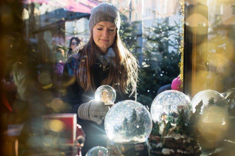 Die Schneekugel ist eine österreichische Erfindung.