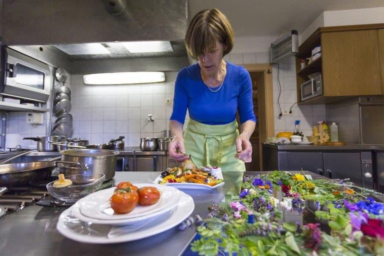Einzigartig: Anna Holzers Küche.