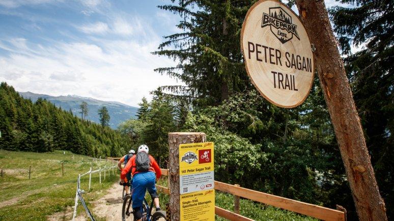 Peter Sagan Trail im Bikepark Lienz, © TVB Osttirol / Erwin Haiden