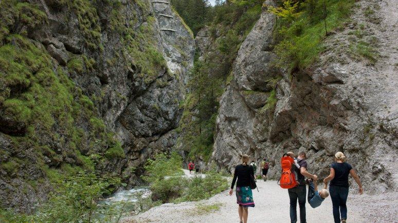 Kundler Klamm zwischen Wörgl und der Wildschönau, © Tirol Werbung/Alexander Ziegler