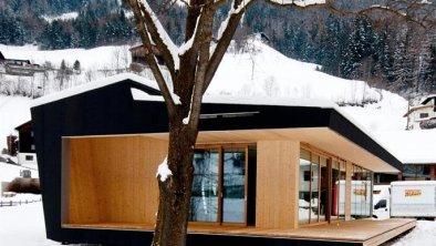 Modulhaus außen Winter 1