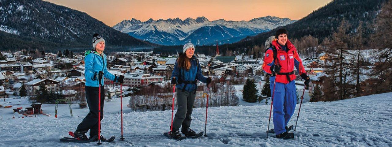 Schneeschuhtour über den Brunschkopf, © Olympiaregion Seefeld