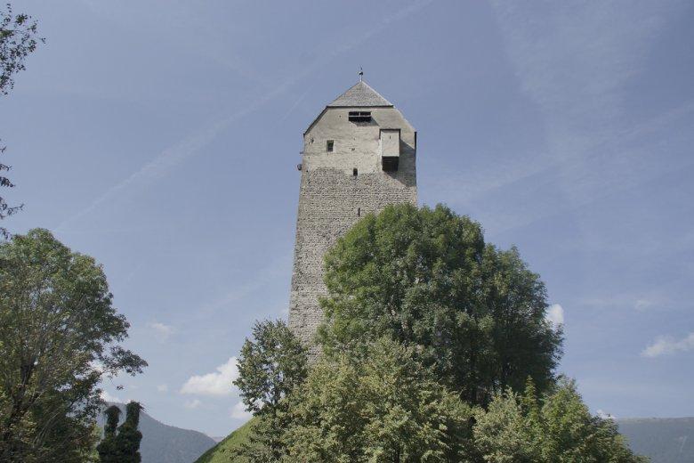 Der Turm von Burg Freundsberg
