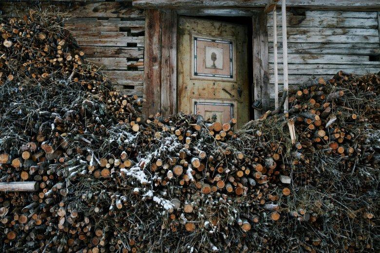 Holz, Holz, Holz. außen wie innen.