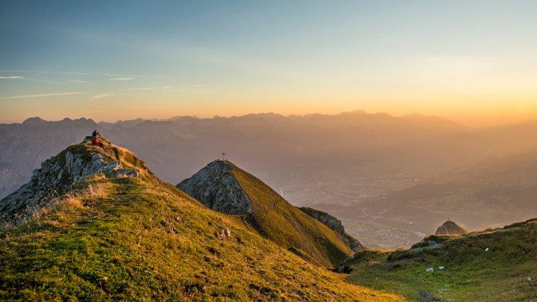 Sonnenaufgang auf der Nockspitze, © Innsbruck Tourismus /Helga Andreatta