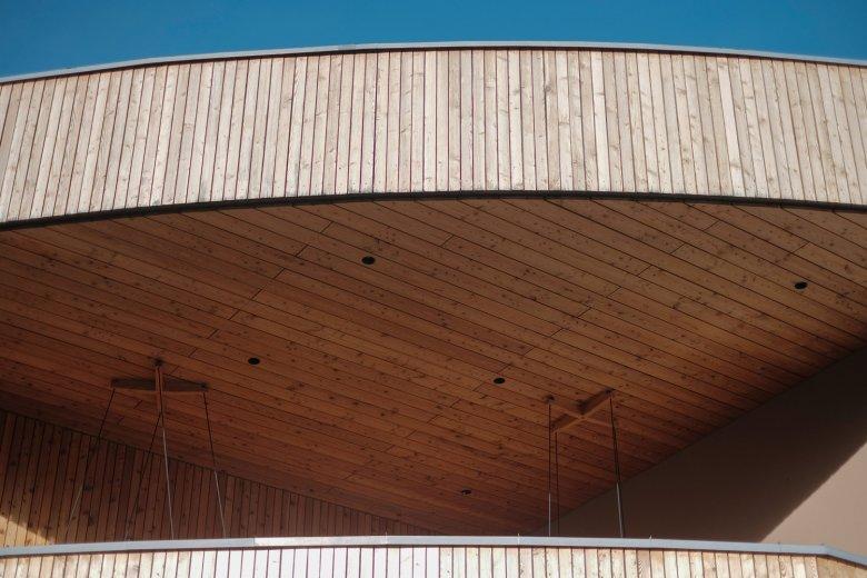 Viel Holz kommt aus dem lokalen Forst.