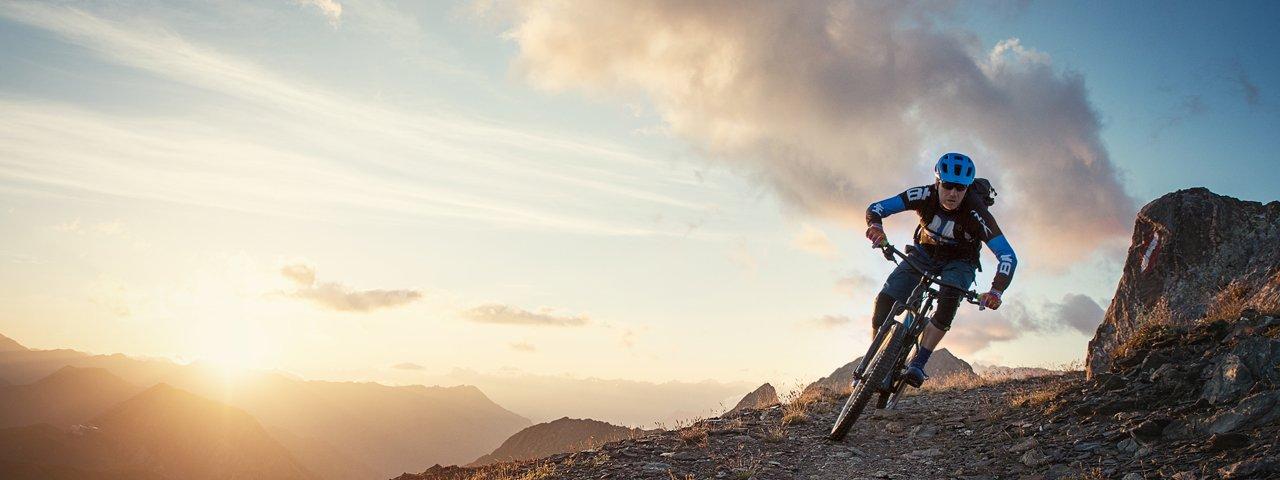 Mountainbiken in Ischgl-Paznaun, © TVB Paznaun-Ischgl