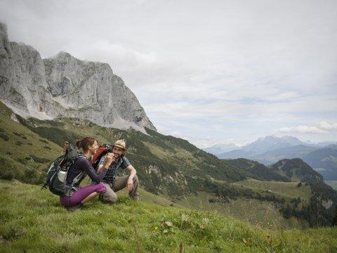 Kaisergebirge bei Ellmau/Going, Wilder Kaiser zur Regalm, Adlerweg Etappe 01