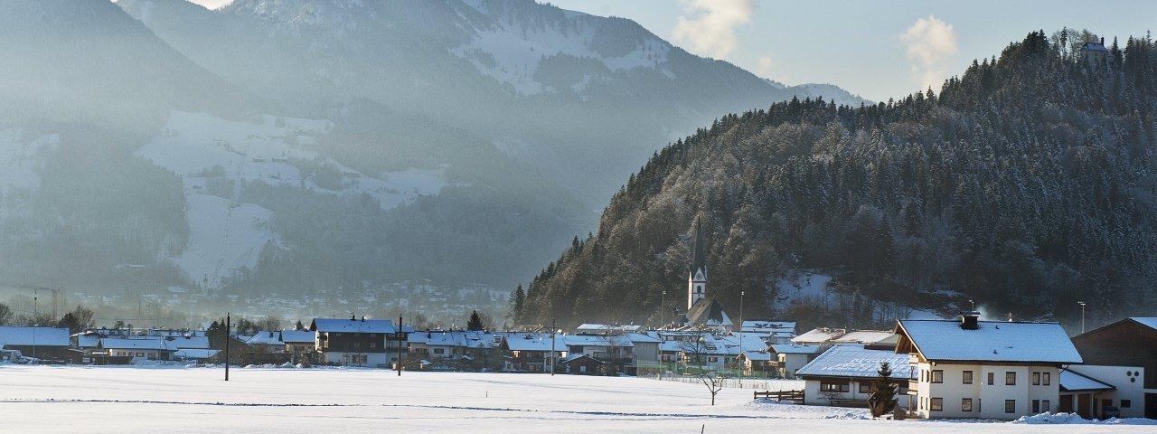 Niederndorf im Winter, © Kufsteinerland