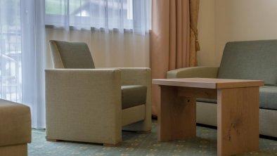 gemütlicher Sitzbereich in allen Zimmern, © Residenz Allegra Sölden