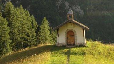 Adlerweg-Etappe 11: Kapelle bei Hallerangeralm, © Tirol Werbung/Holger Gassler