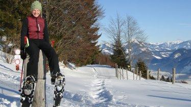 Schneeschuhwanderung Thierberg, © Alpbachtal Seenland