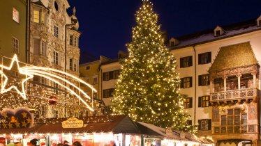 Christkindlmarkt in der Innsbrucker Altstadt, © Innsbruck Tourismus/Christoph Lackner