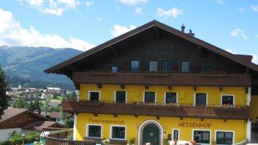 Haus mit Sicht auf das Dorf