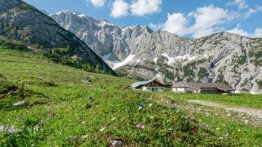 Das Karwendelgebirge rund um das Karwendelhaus, © Olympiaregion Seefeld / Stefan Wolf