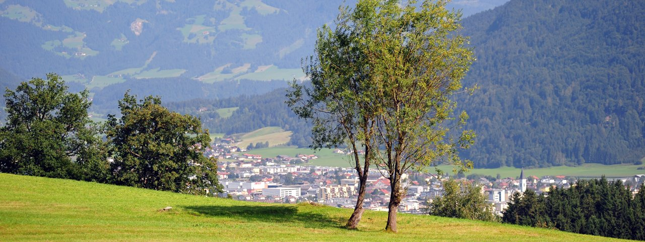Blick auf Wörgl, © Kitzbüheler Alpen Marketing/Hannes Dabernig
