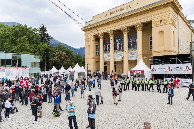 Historische Kulisse für die Rad-WM: der Rennweg in Innsbruck