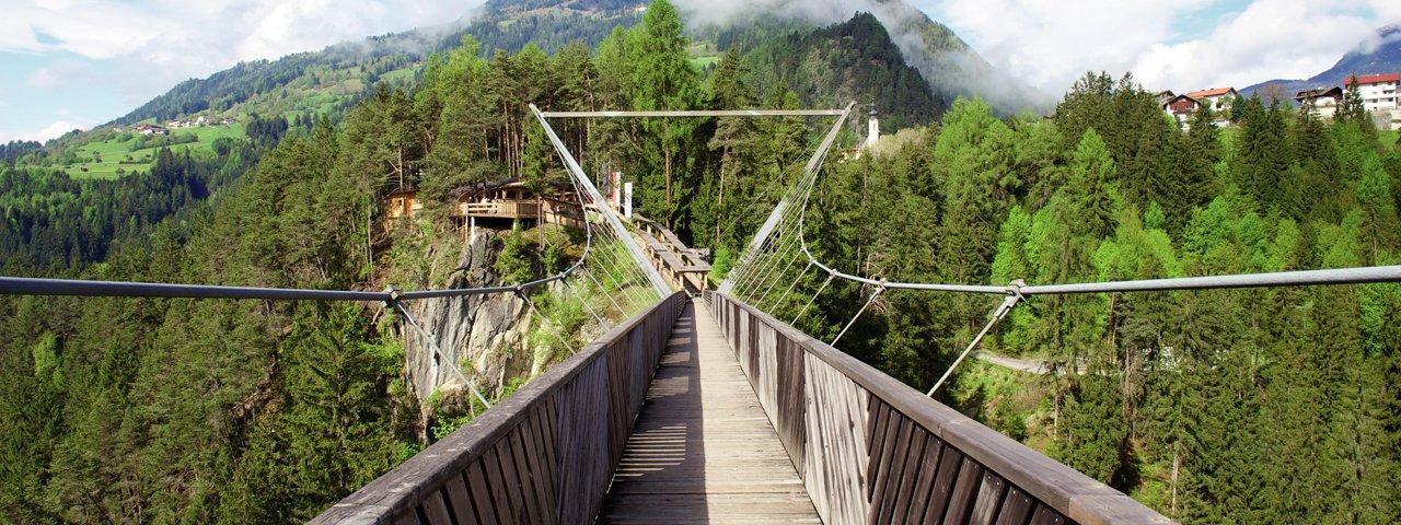 Benni Raich Hängebrücke, © TVB Pitztal